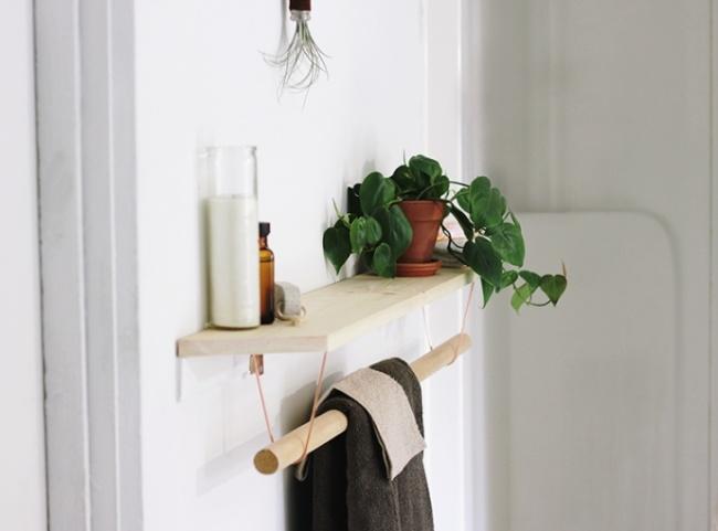 15 блестящих идей чтобы организовать пространство в ванной комнате