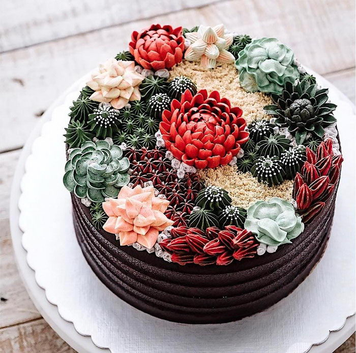 15 аппетитных и очень красивых весенних тортов