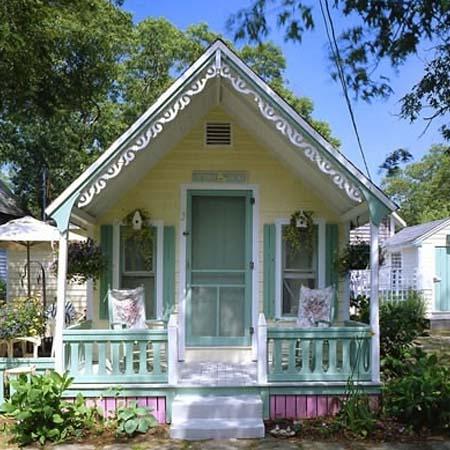 Как построить маленький но красивый дом своими руками
