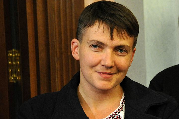 Савченко обнародовала списки пленных