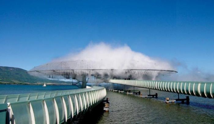 Здание из тумана — Blur Building