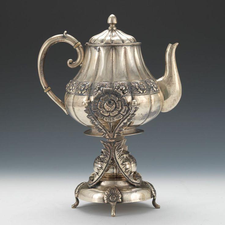 Изящество и блеск эпохи Модерна. Серебряные чайники XIX - ХХ вв.