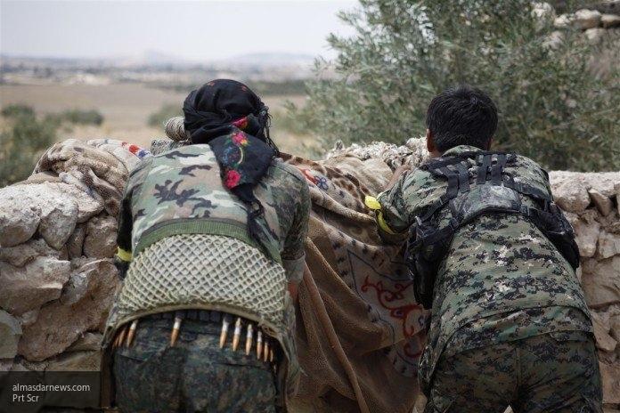 Курдские солдаты освободили аэродром Табка близ Ракки от террористов ИГ