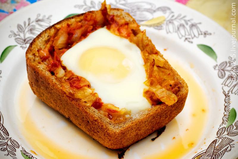 Суровые мужские рецепты: Яичница с луком portable