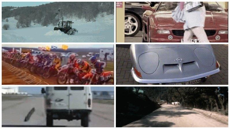 Подборка автомобильных гифок