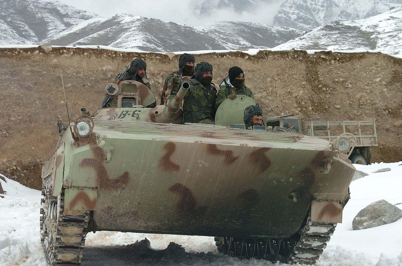 Новая сирийская штурмовая БМП «Скрежет» замечена в ходе боёв близ Пальмиры