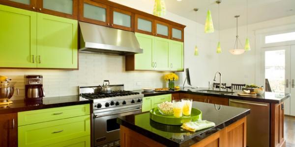 зеленые кухни-12