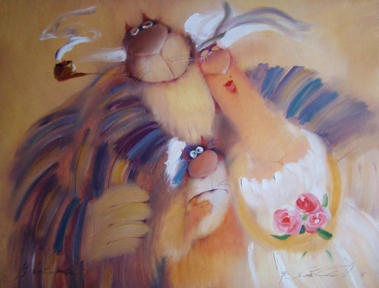 художник Валерий Хлебников картины – 25