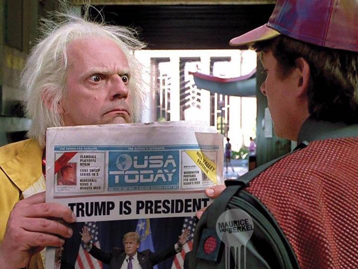 Трамп «разделал под орех» прессу и Барака Обаму