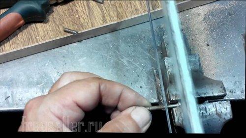 Изготовление спиннера из мебельных ручек своими руками