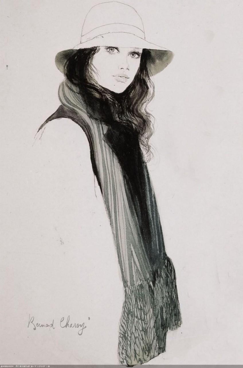 Шляпки от Бернара Шаруа