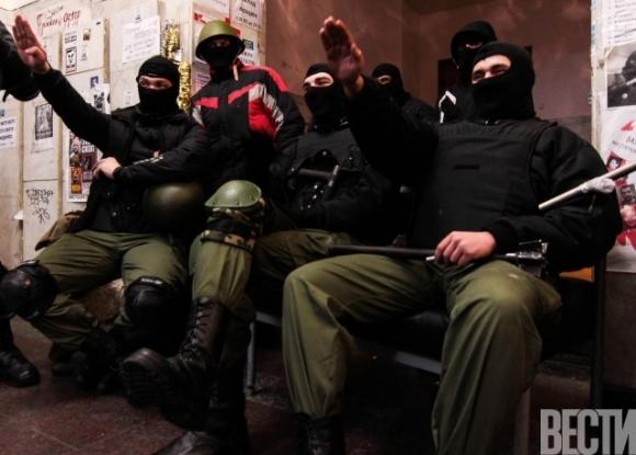Киевскую мэрию захватила УПА