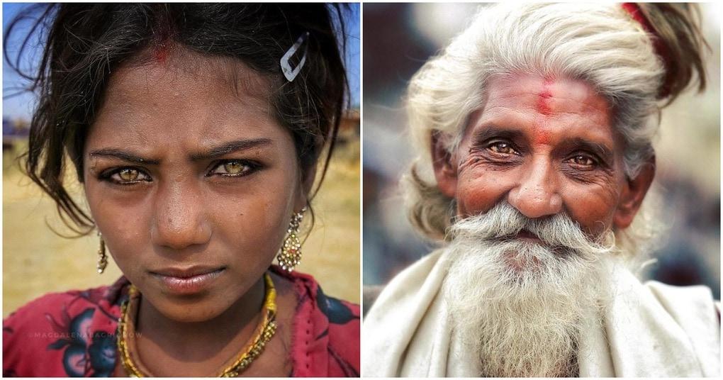 Польский фотограф, путешествуя по Индии, показывает красоту местных жителей