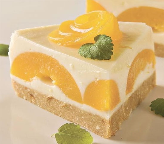 Быстрый йогуртовый торт с ананасом