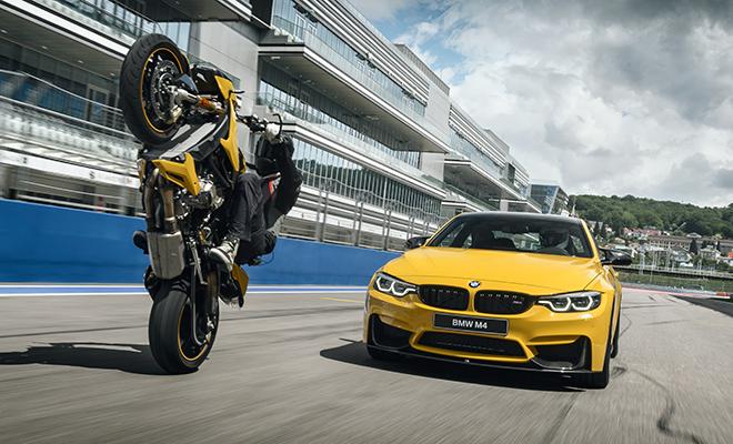 Спецсерия Competition BMW M4 и BMW S1000R идет к нам