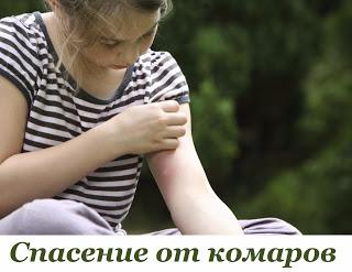СПАСЕНИЕ ОТ КОМАРОВ