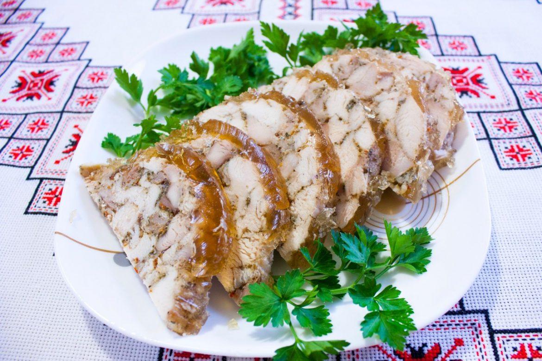 Ветчина из курицы в банке в духовке рецепт