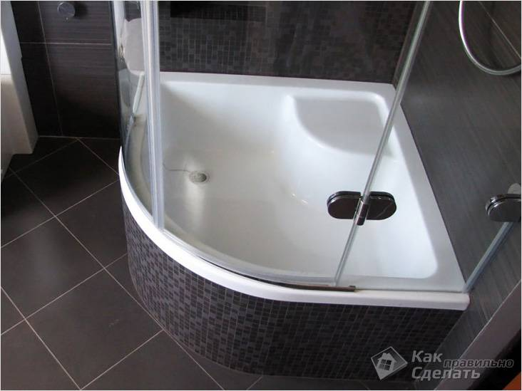 Душевая кабина вместо ванны