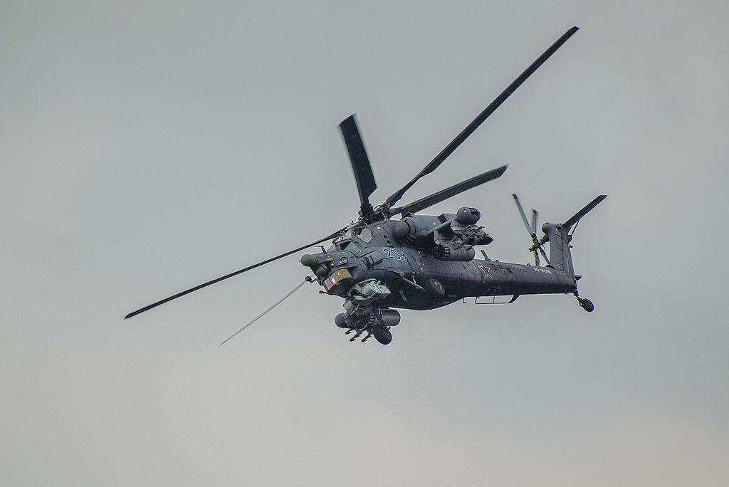 Сирийцы засняли работу российских Ми-17 и Ми-28 в провинции Хомс