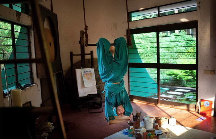 Главные ценности жителей Ауровиля - творчество и духовные практики
