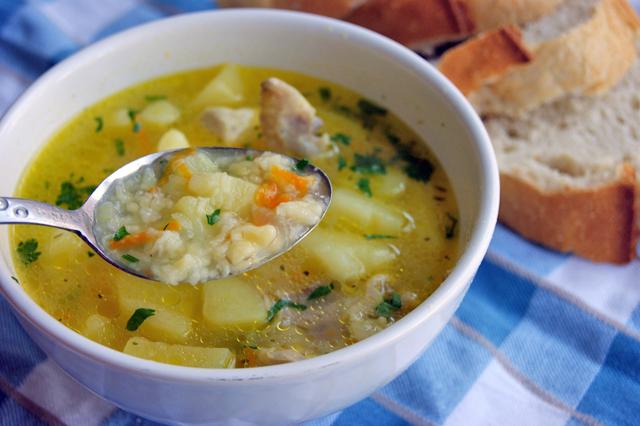Вкуснейший крестьянский суп «Как в детстве». Просто и быстро