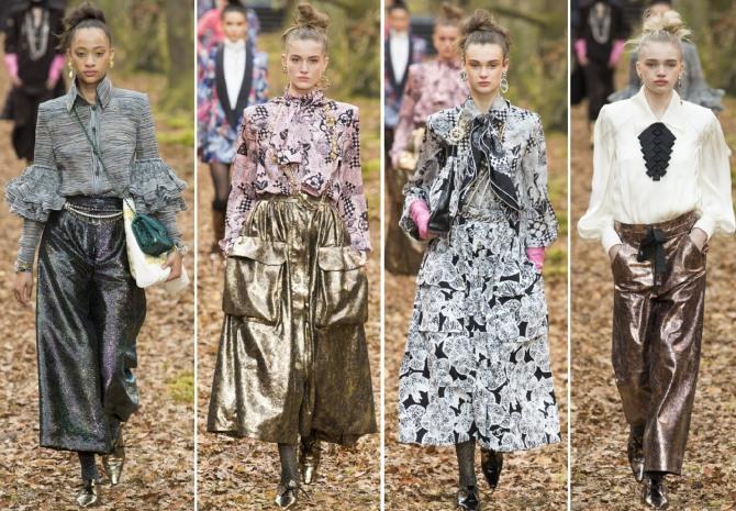 Блузки 2019 от модного дома Шанель