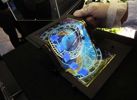 Японцы создали сенсорный OLED-дисплей