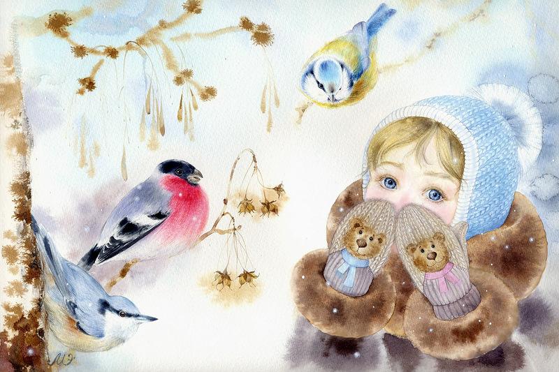 Картинка рябинка для детей