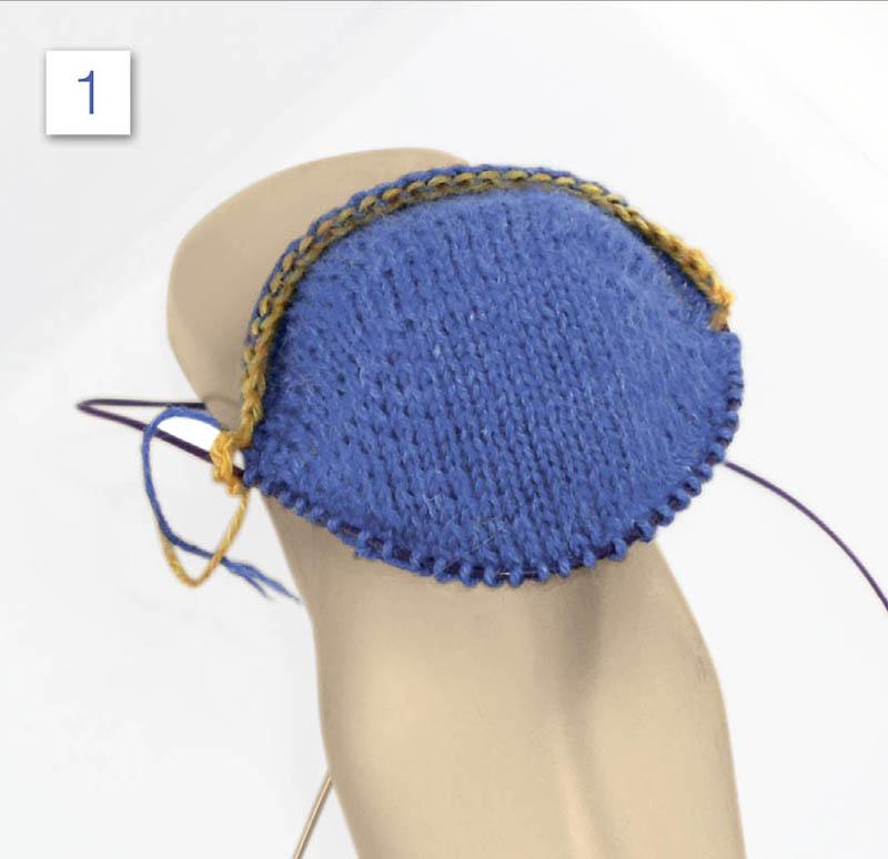 Носки в технике свинг спицами