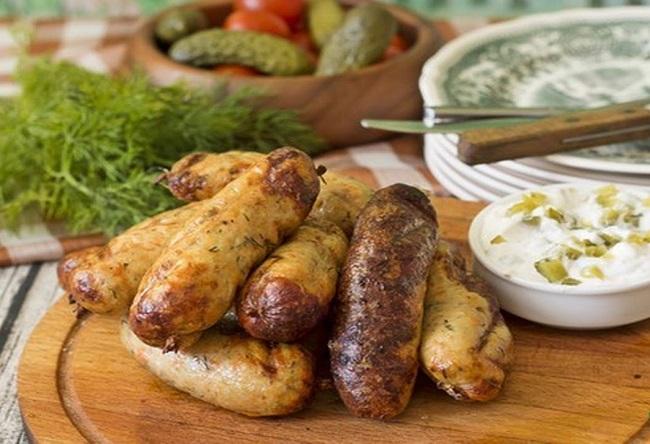 Колбаски и сосиски из щуки и…
