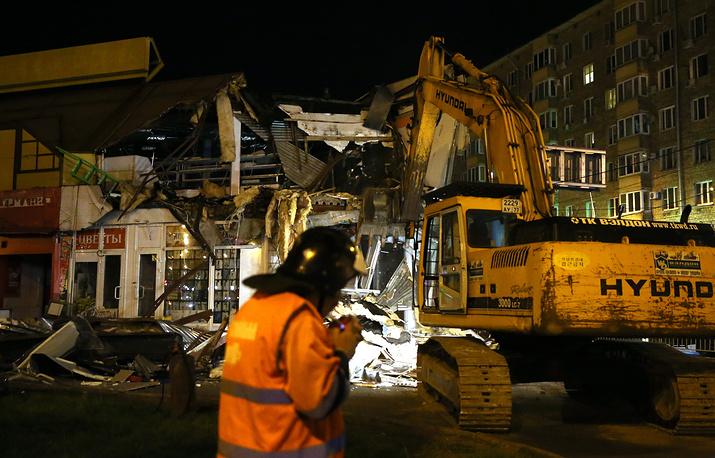 Во вторую «ночь сноса самостроя» уничтожено почти 100 зданий