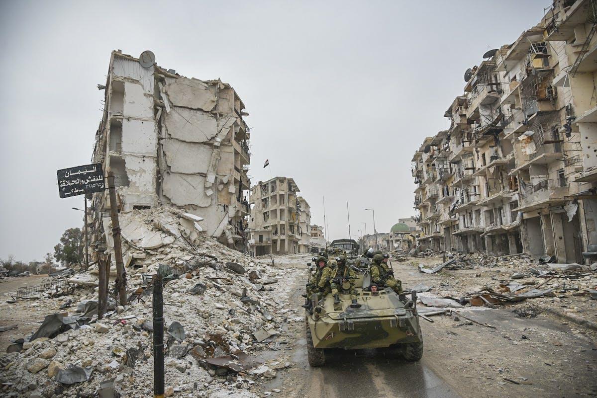 Четверо российских военных погибли в Сирии. 2017 год.