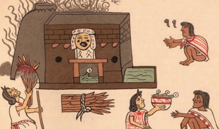 Баня в культуре майя.