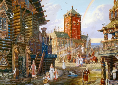 Древняя Русь в картинах / Ancient Russia in pictures (121 фото)