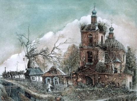 художник Александр Ветров картины – 18