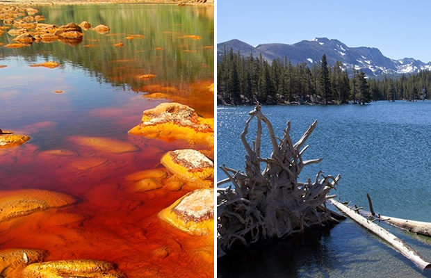 Самые ядовитые озёра мира
