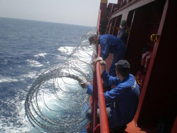 Как сегодня готовят гражданские судна к проходу через пиратоопасные районы
