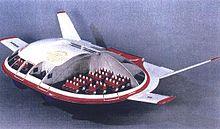 ЭКИП:  проект многофункционального безаэродромного летательного аппарата без крыльев.