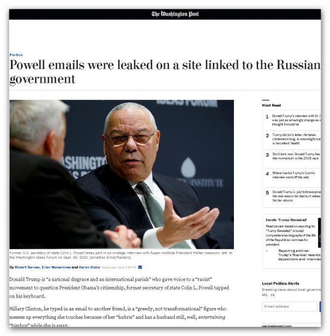 """Всё что """"слито"""" в сеть и раскрывает ложь США - сделали русские, и точка"""