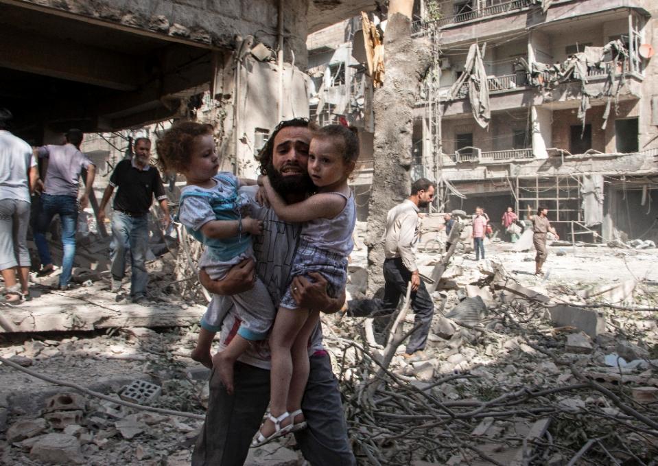 Война в Сирии как есть: без …