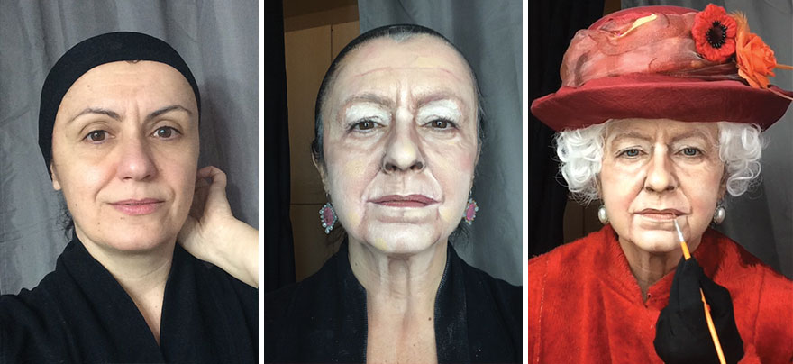 Чудеса макияжа Люсии Питталис
