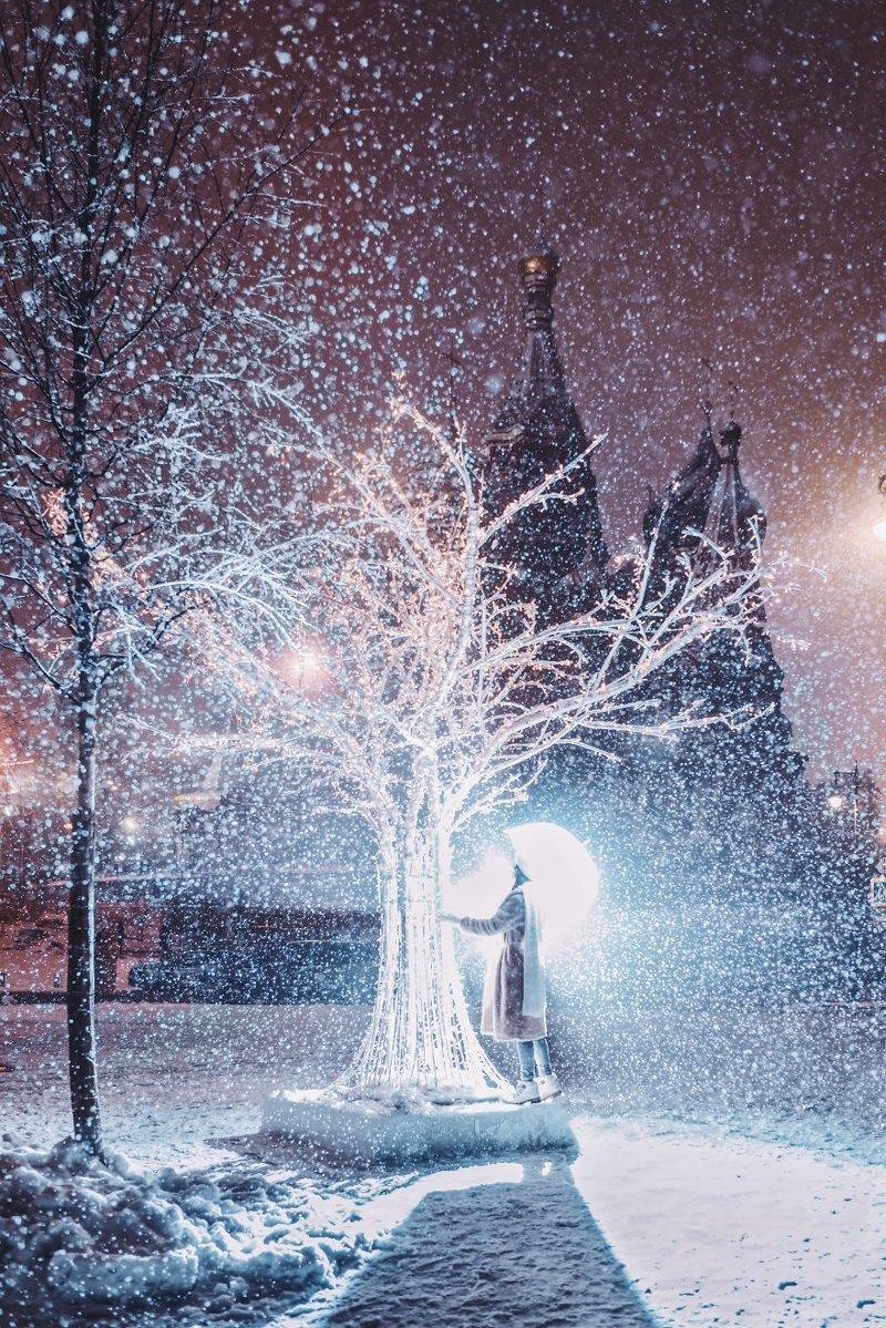 18. достопримечательность, зима, кристина макеева, москва, сказка, снег, фотография, фотомир