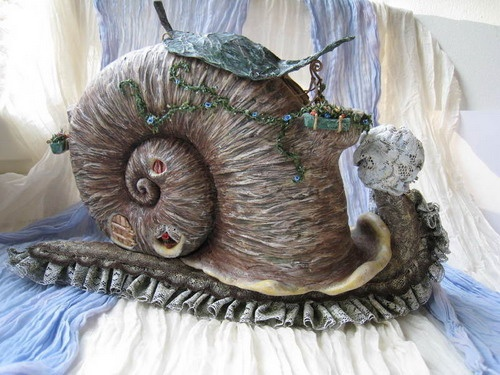 Сказочный домик из панциря улитки