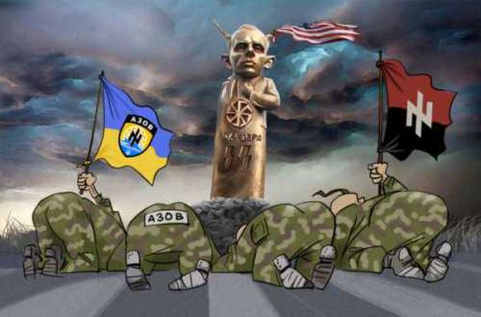 Пролетая над гнездом элиты в Киеве