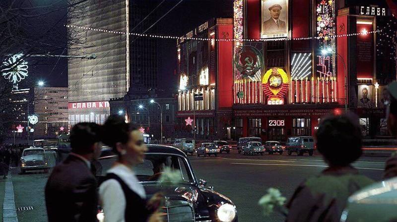 Улица Горького, Москва, 1969 год СССР, быт, воспоминания, ностальгия, фото