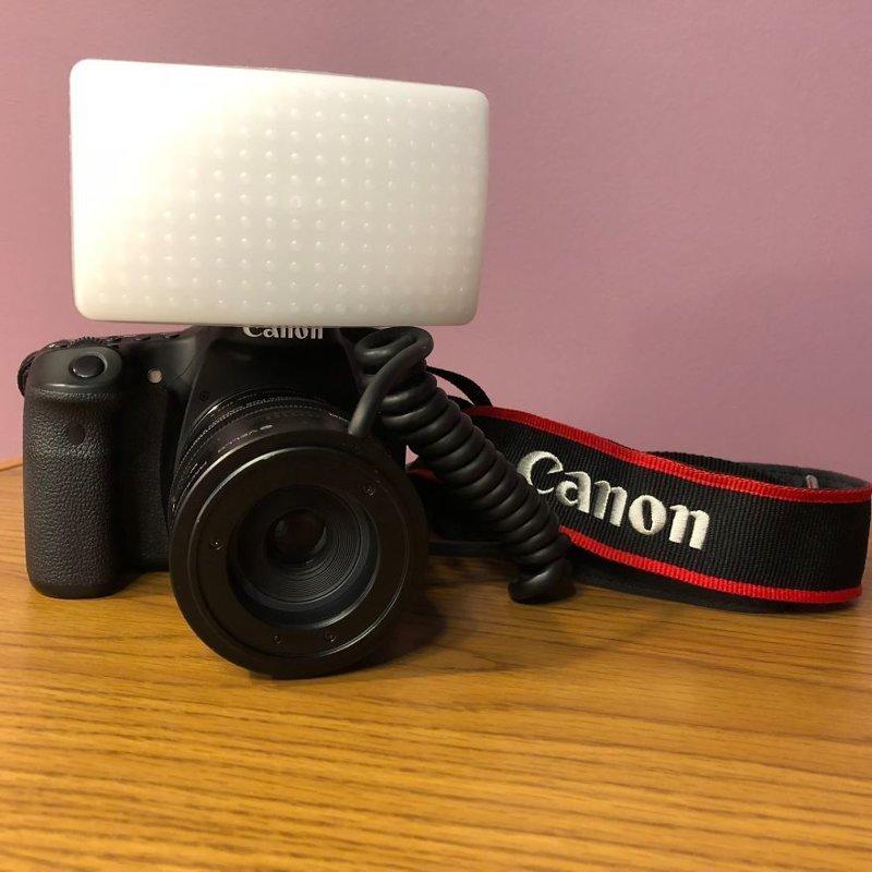 Для съемки используется Canon 70D и диффузор (рассеиватель) для встроенной вспышки интересное, макро, макро-съемка, полезное, снежинка, советы, фото, фотография