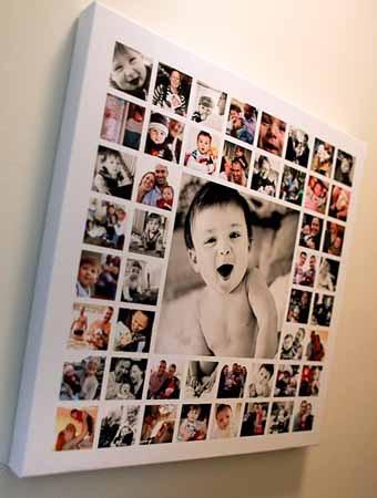 детские фотографии в интерьере