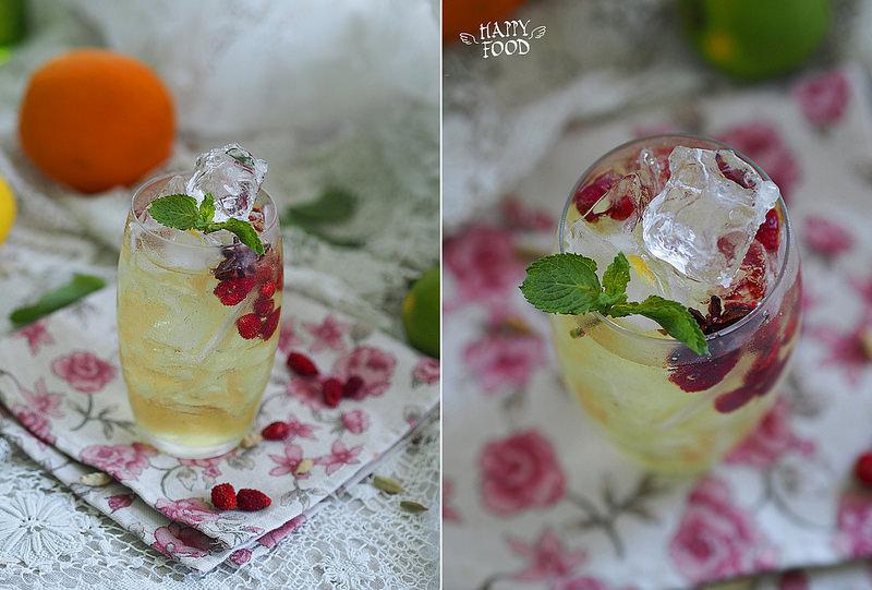 Пряный лимонад из апельсиновой кожуры