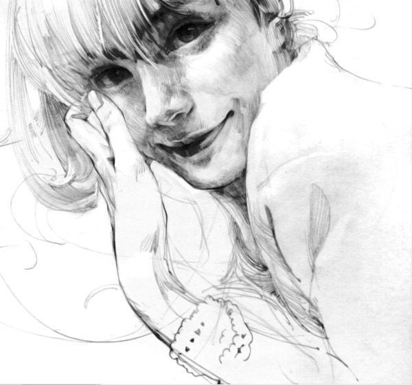 художник Zhang Weber графика – 04