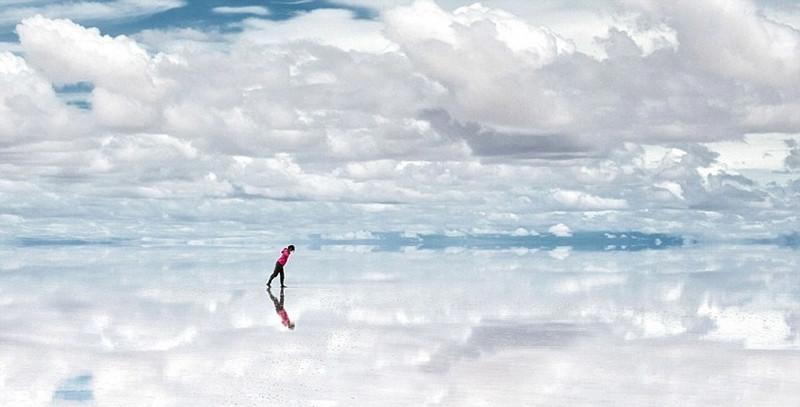 Салар де Уюуни: самое большое зеркало, Боливия красивые места, красота, невероятные места, фото